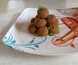 Crispy and Spicy VEGAN Meat Balls