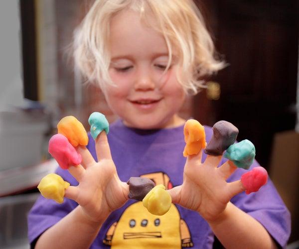 Cómo Hacer Plastilina (Play-doh)