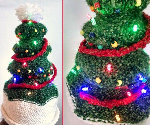 Light-Up Christmas Tree Hat