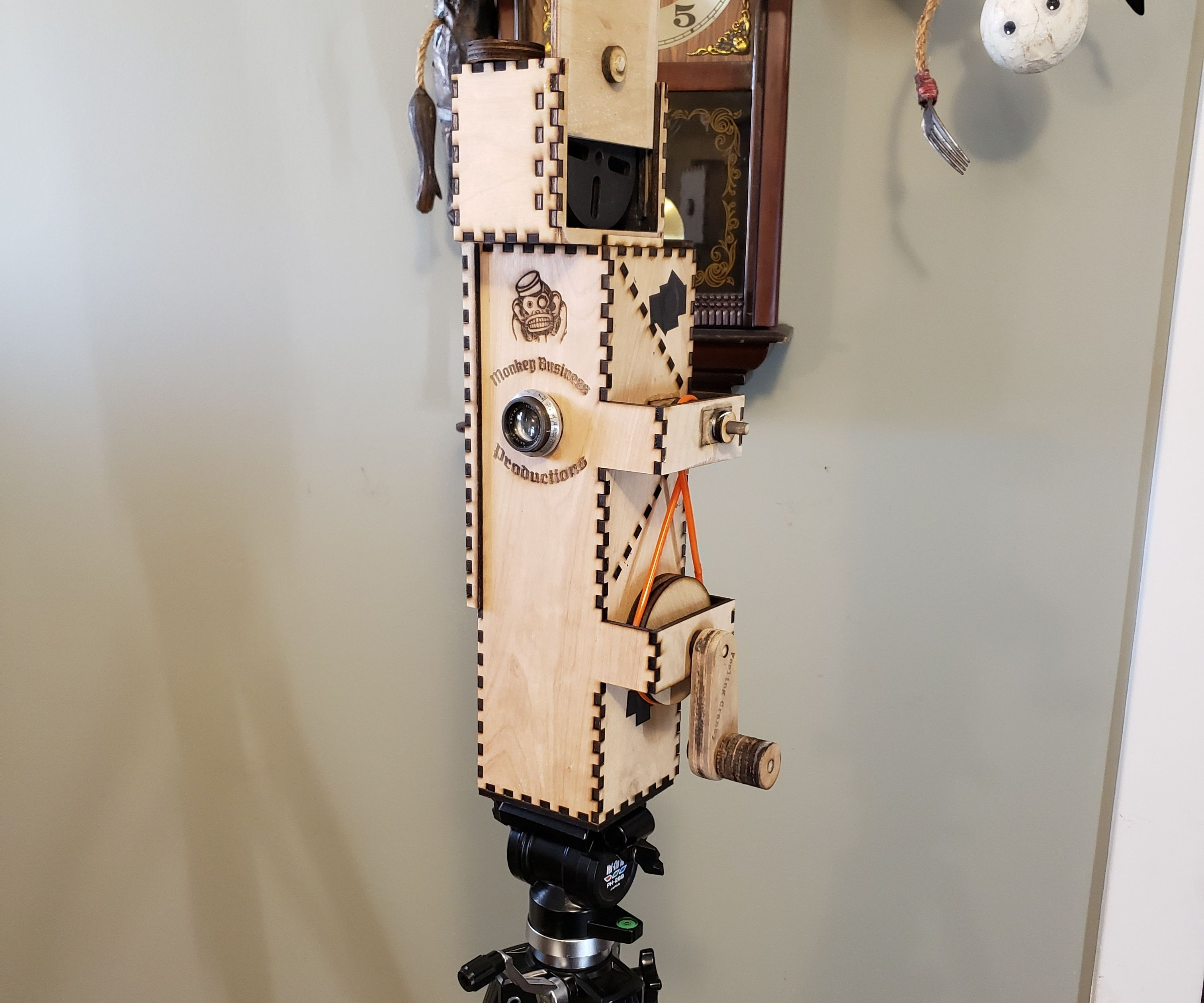 Hand Crank Motion Picture Camera