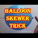 Amazing Balloon Trick