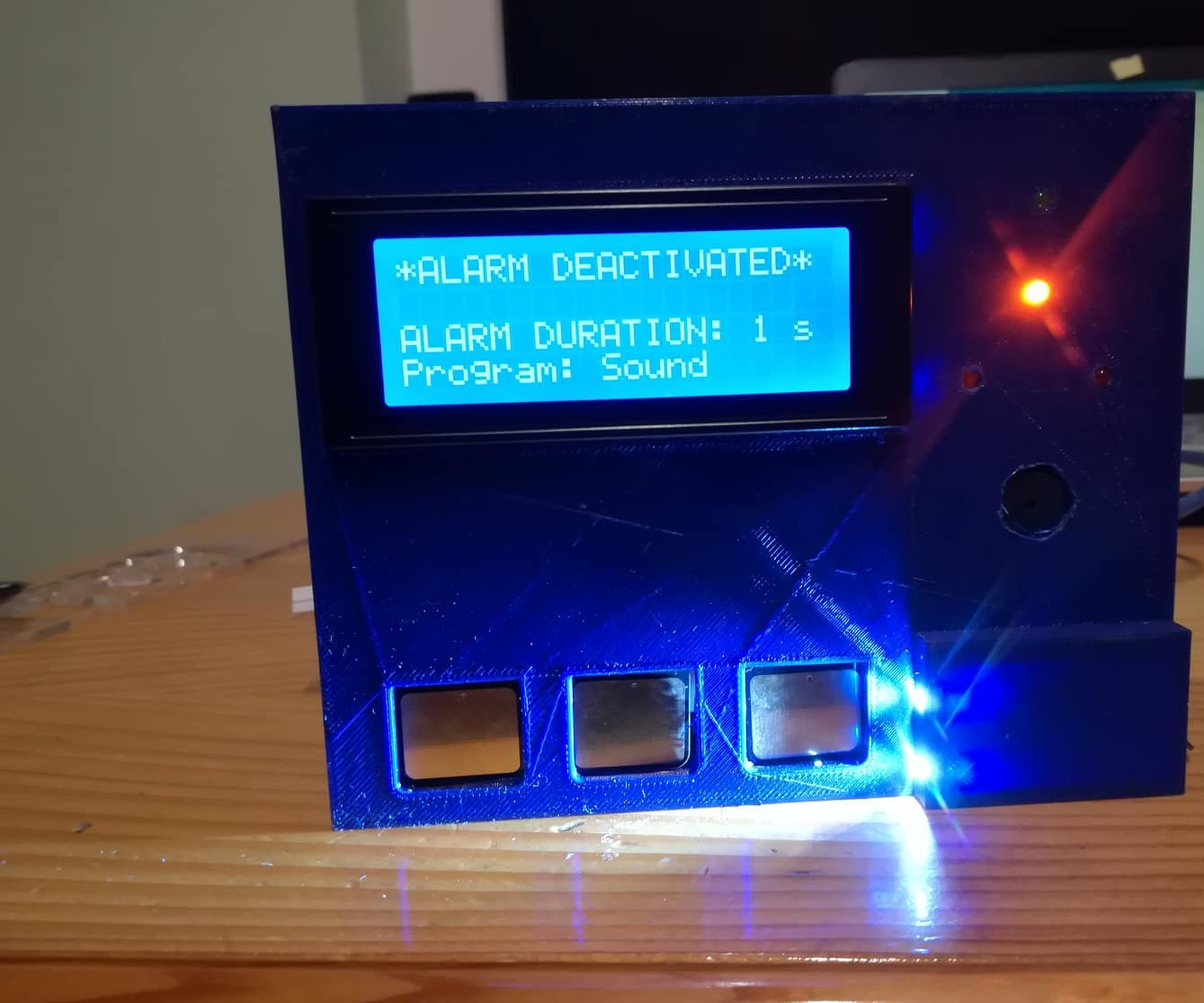 Arduino Alarm With Digital Vibration Sensor