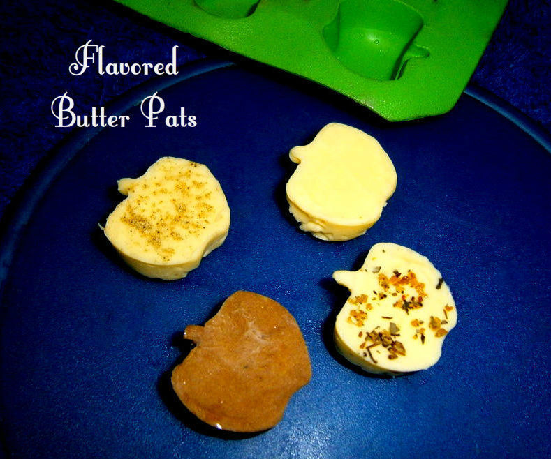 4 Flavored Butter Pats