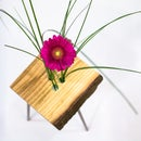 Modern Live Edge Vase