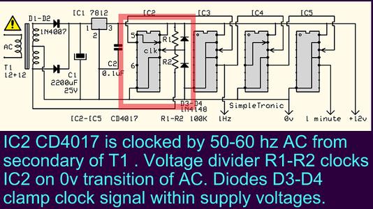 IC2: 50-60Hz to 10 Hz Divider