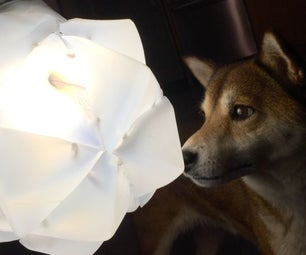 HDPE Upcycling Stellar Icosahedron Lamp