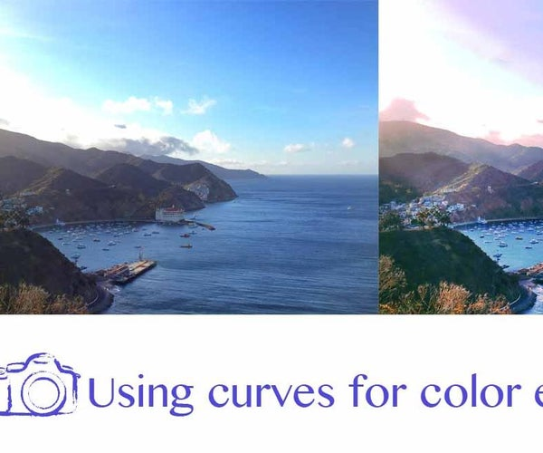 Using Curves for Color Enhacement