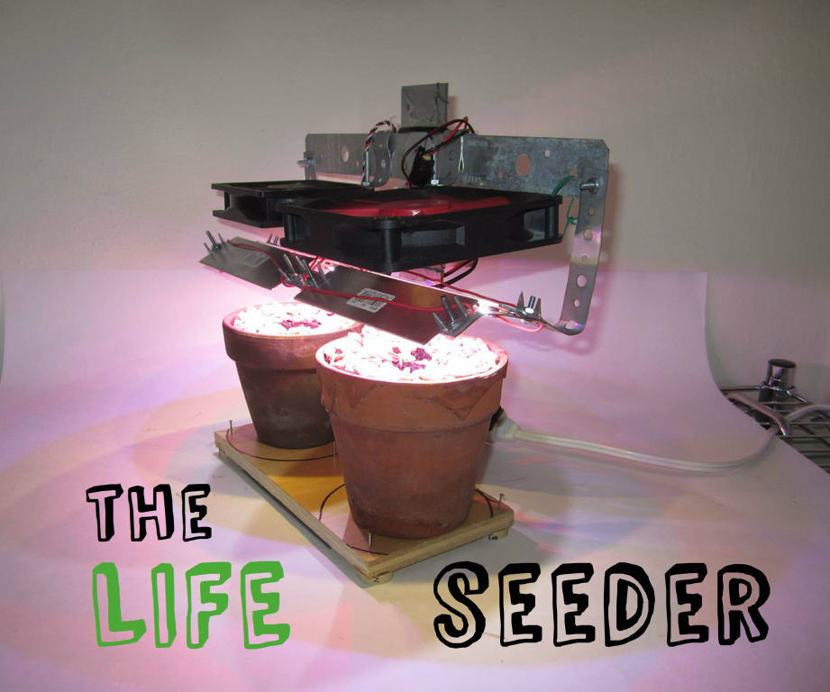 The Life Seeder - make an indoor seed starter