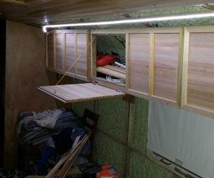 Making Simple Cabinet Doors From Scrap Wood