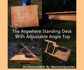 """The """"Anywhere"""" Portable Standing Desk"""
