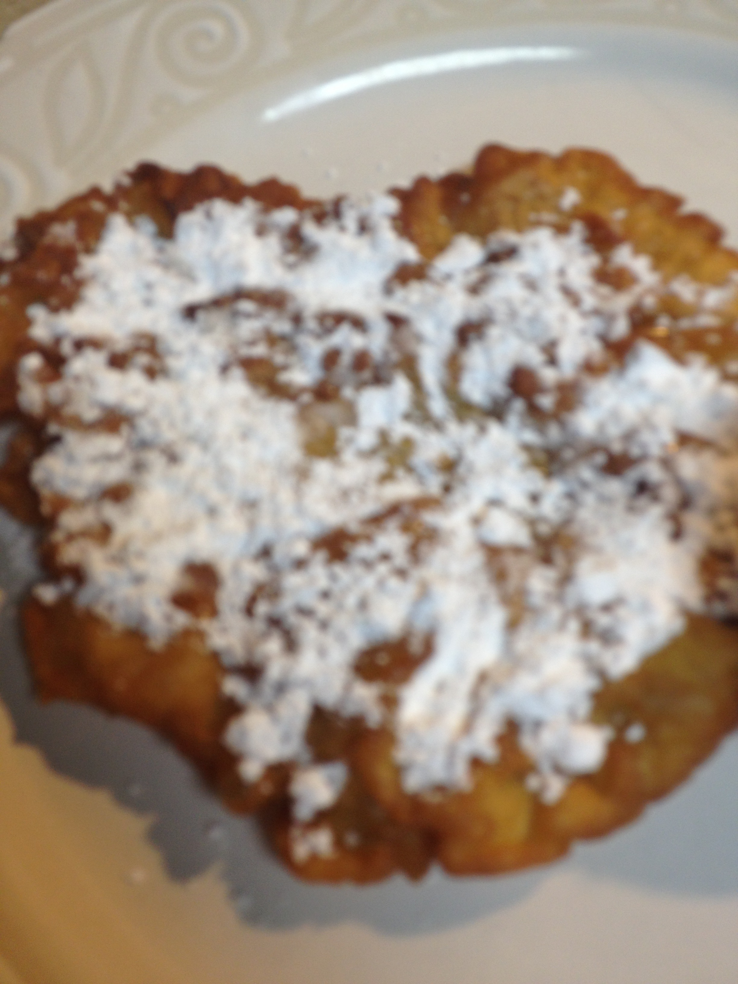 Funnel Cake With  NO Funnel