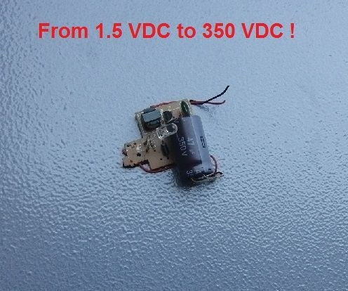 Capacitor Charger 350 Volts