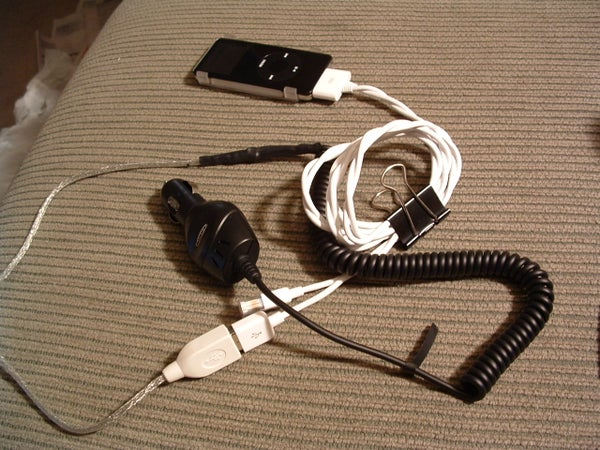 How to Make Your Own USB Car Charger for Any IPod or Other Devices That Charge Via USB
