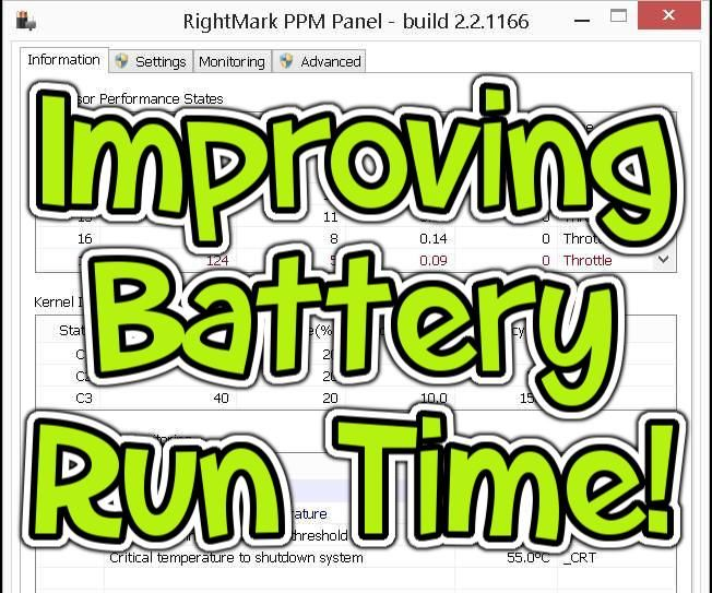 How I Helped My Netbook's Battery!