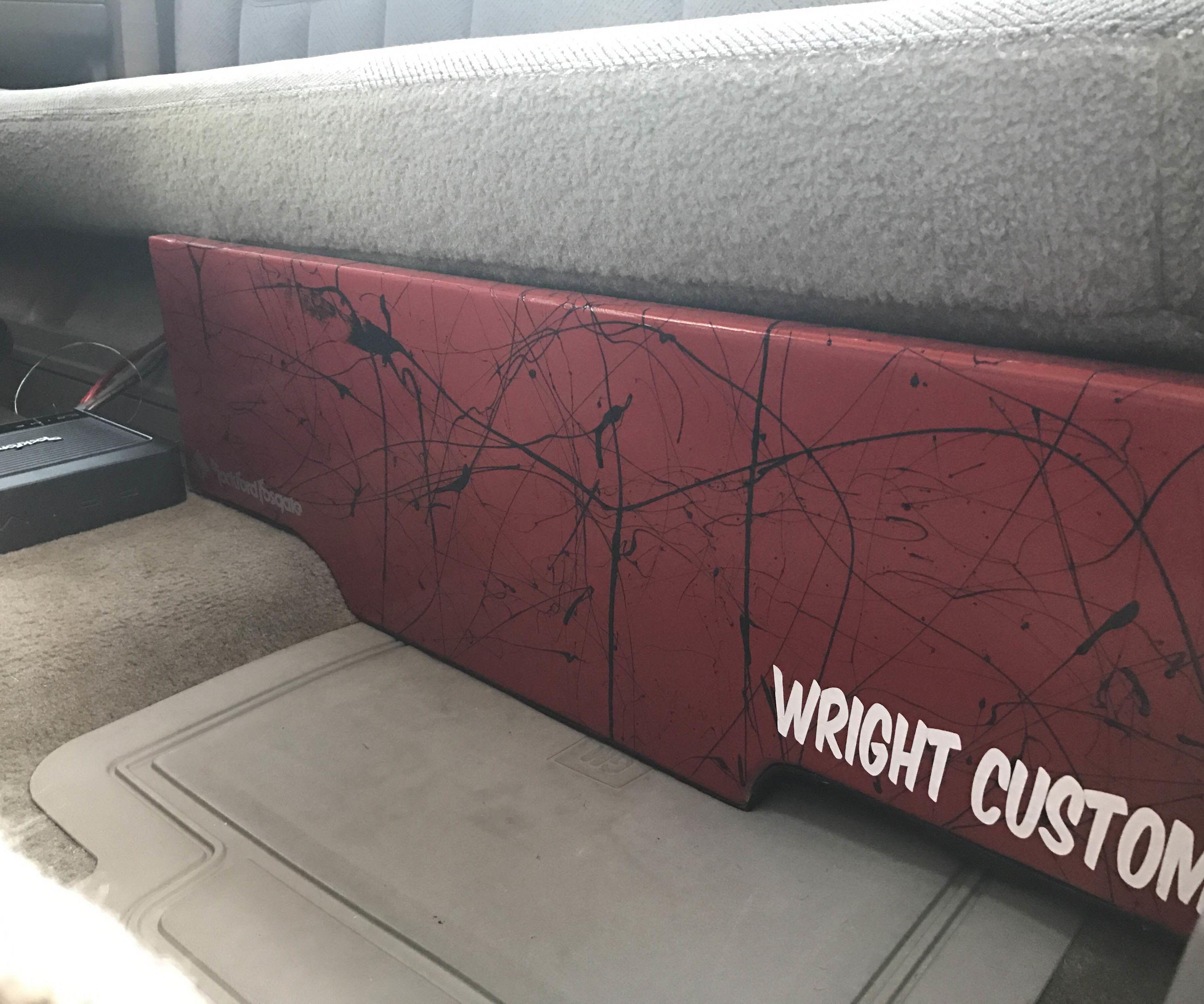 Custom Underseat Subwoofer Box