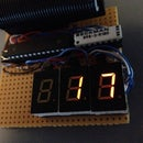 Raspberry Pi 2 DIY LED LAN device counter