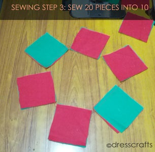 PLACEMATS SEWING STEP 3