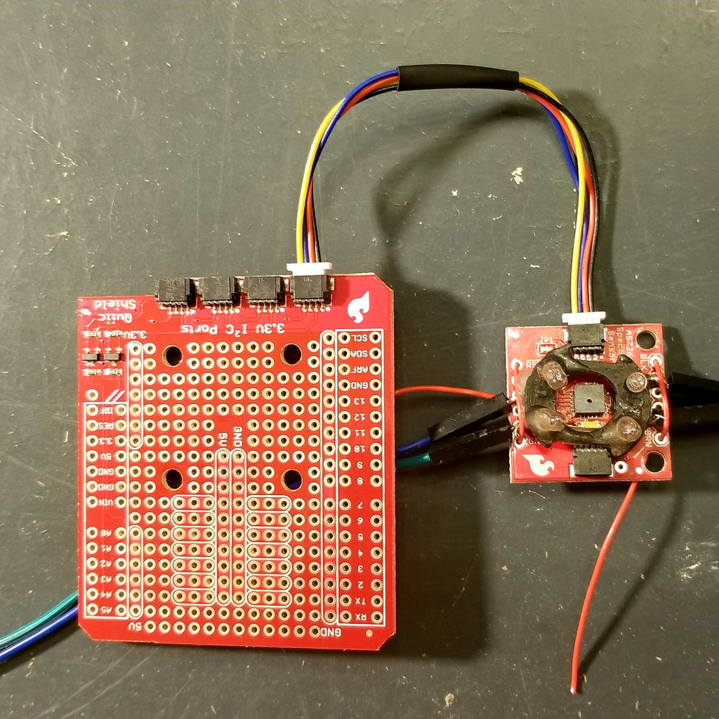 Mounting Incadesent Bulbs to the AS7263