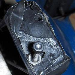 Quick Repair for chipped Plastic