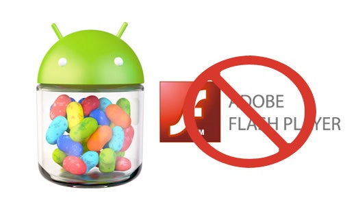 Flash on Jelly Bean Android