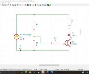 Simulating a KiCad Circuit
