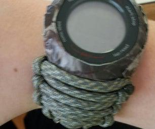 Paracord手表与胶带