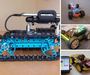 Arduino Rovers and Cars