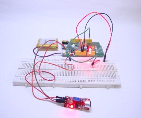 Linkit ONE Sound Reactive LED