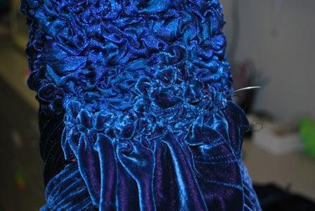 Velvety Peacock Finishing