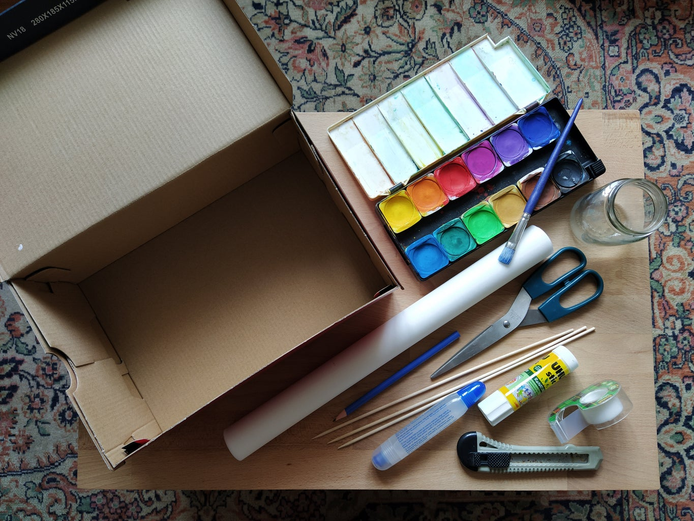 Shadow Theatre in a Shoebox