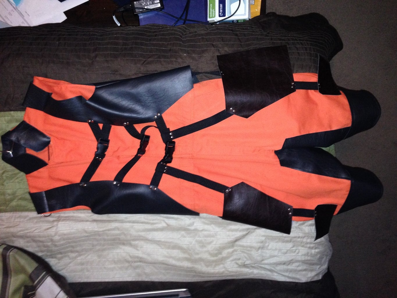 The Vest and Harness