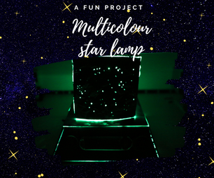 Multicolour Star Lamp