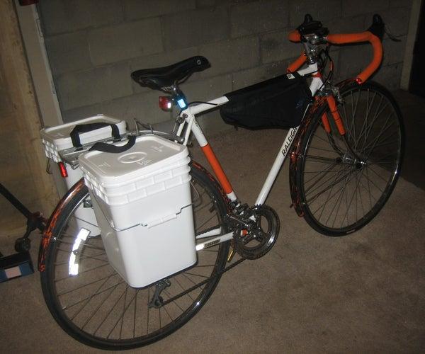 Building Better Bucket Panniers