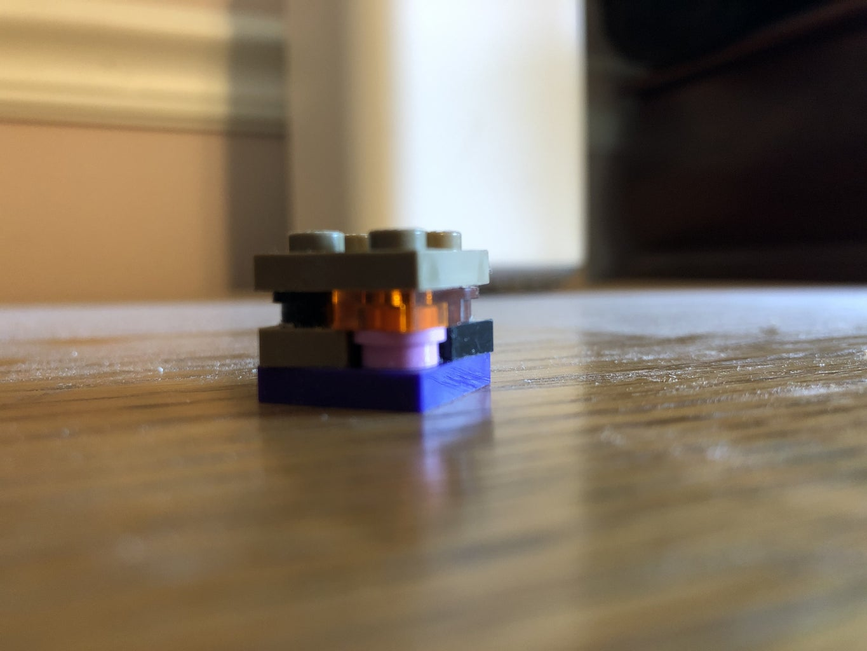 Easy to Build Lego Minecraft Ore Block