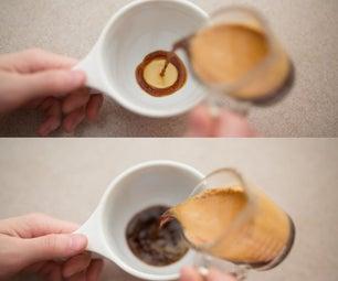 如何制作拿铁咖啡