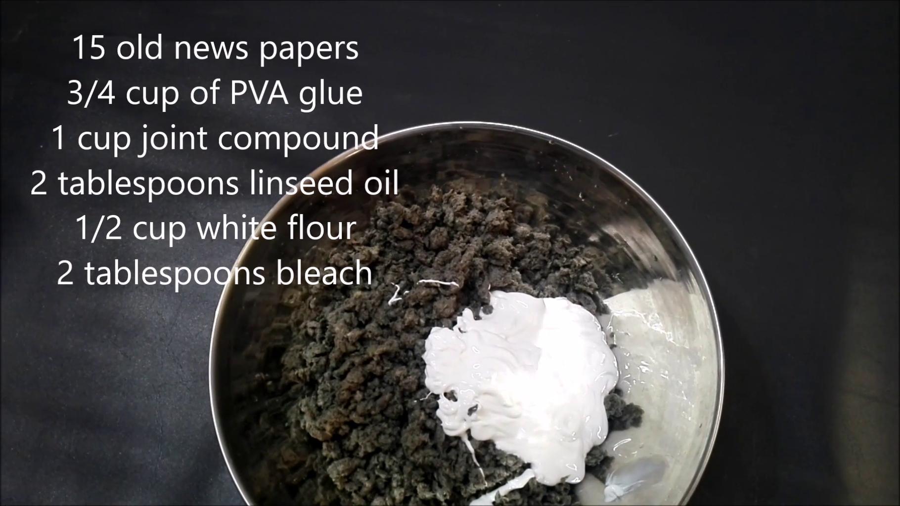 Paper Mache Dough