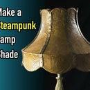 用牛皮纸自制蒸汽朋克灯罩