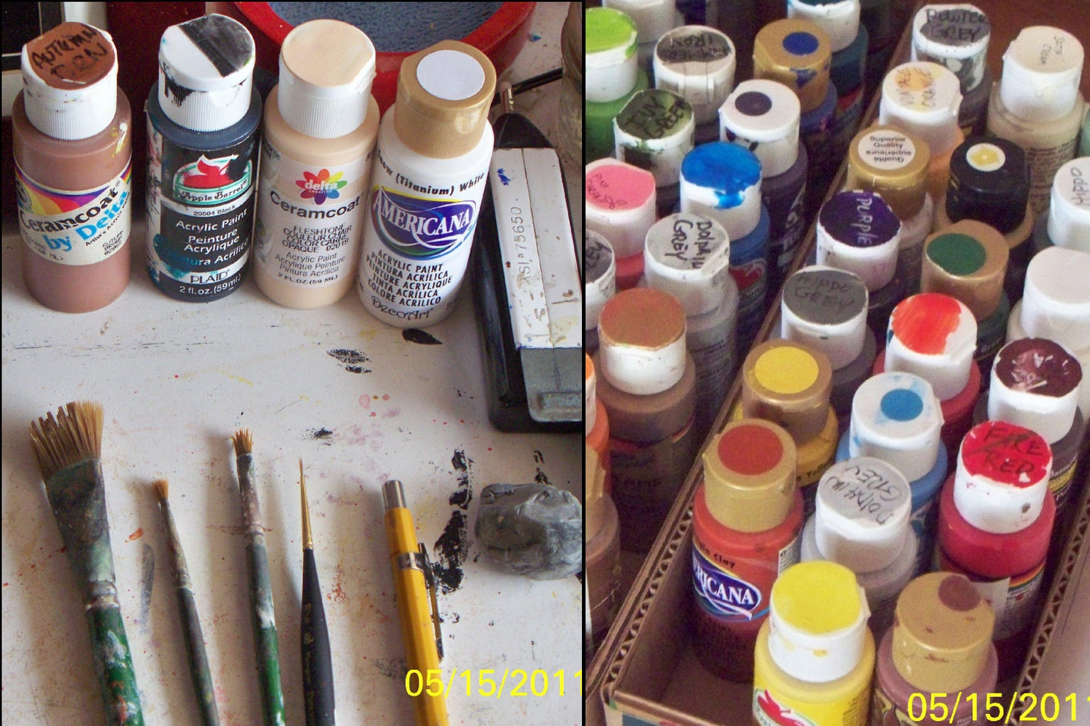 Assemble Needed Painting Supplies