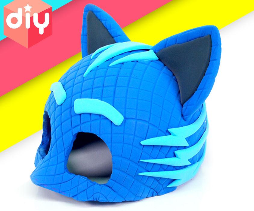 PJ Masks - DIY Catboy Mask [Halloween Mask] for Kids !!