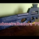 How to Make Fn P90 Submachine Gun