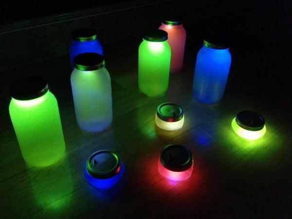 Jars of Glowing Spirits