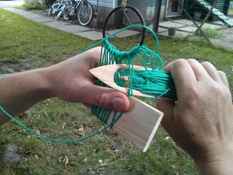 Basic Net Weaving Technique