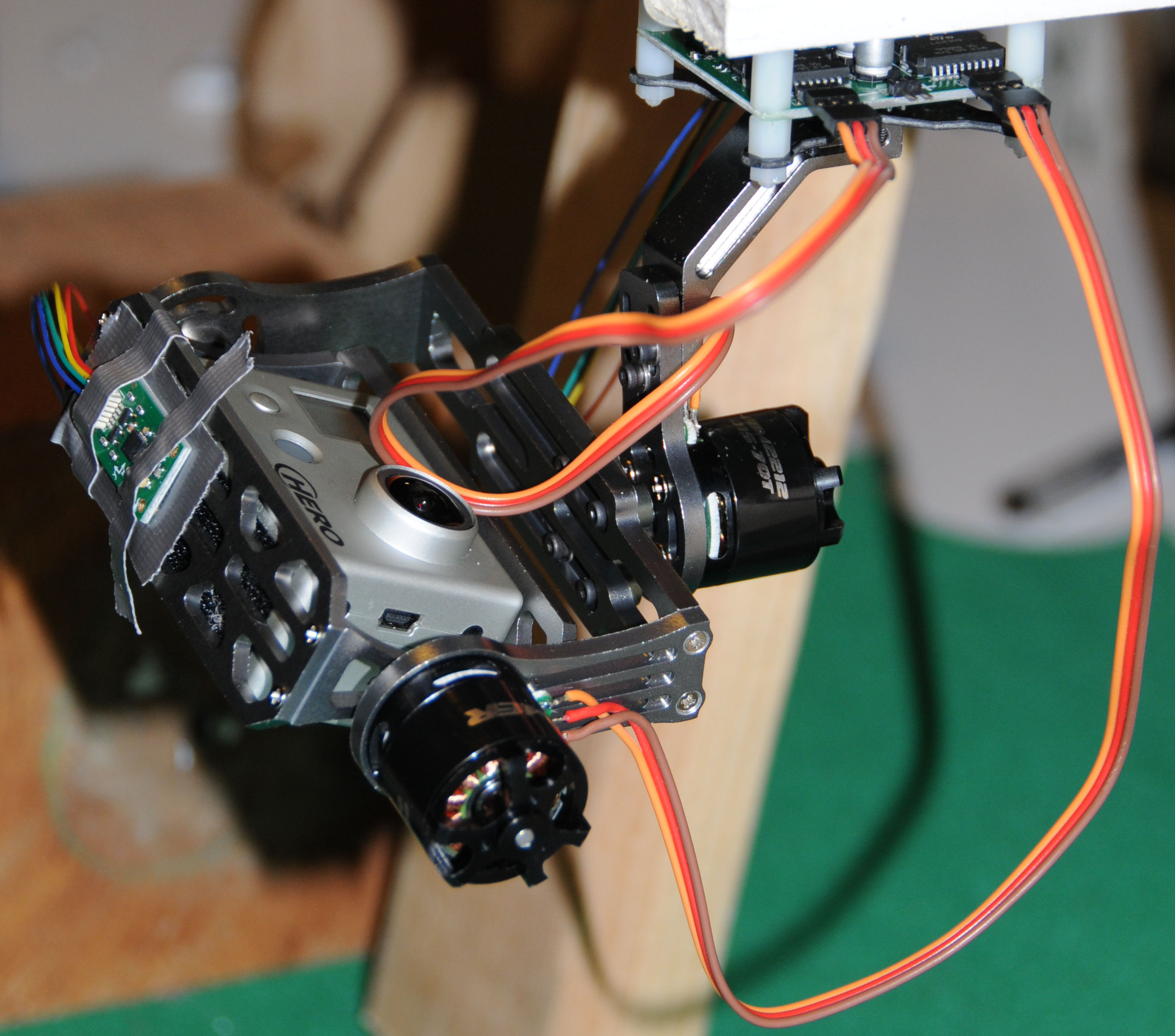 Brushless Gimbal for Aerial Photography Drones