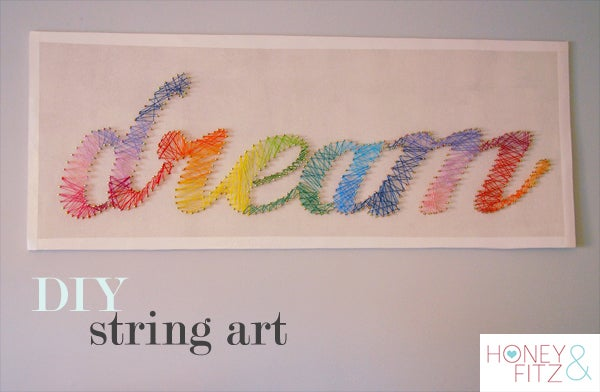 Diy String Art Tutorial 10 Steps With Pictures Instructables