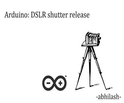 Simple Arduino Trigger for DSLR