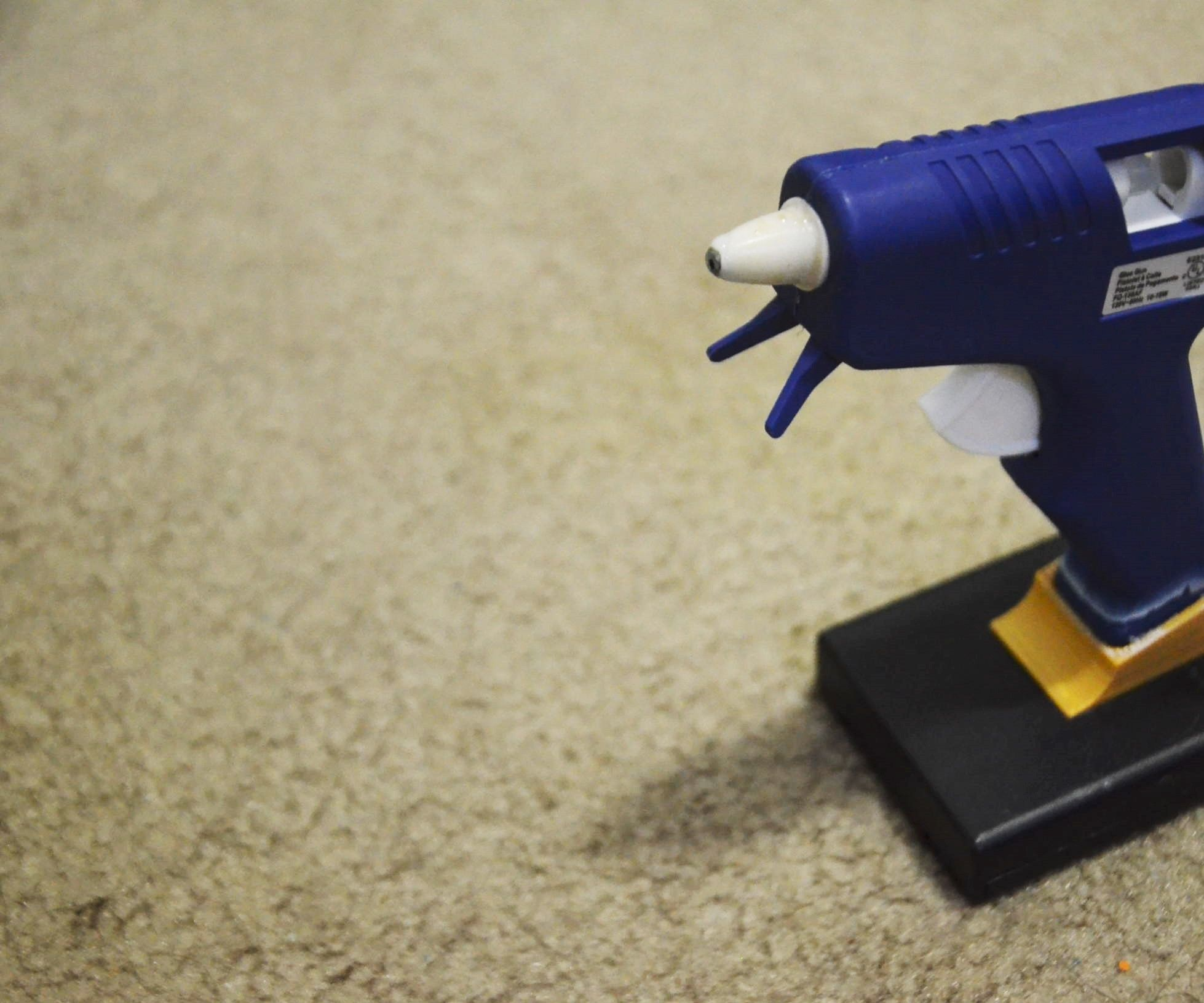 Corded to Battery Powered Hot Glue Gun