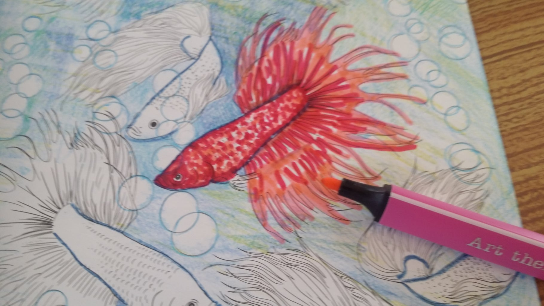 1st Fish: Creating the Fins & Tall