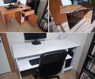 Merging 2 Useless Desks Into More Useful 1 With Minimum Modification