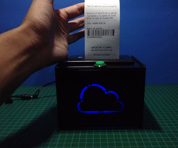 Raspberry Pi IoT Ticket Printer for Online Stores