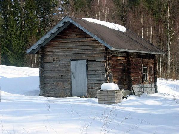 Building an Outdoor Sauna